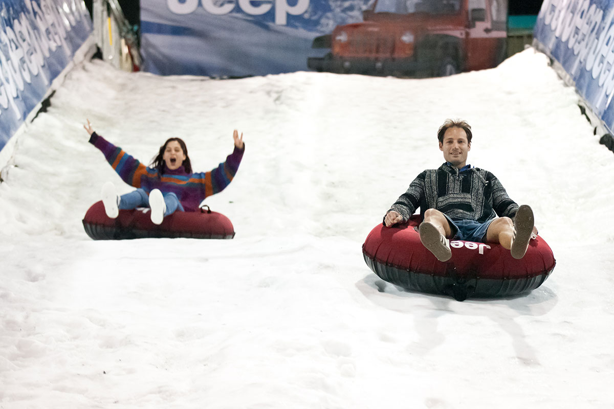 Tubing on real snow - Snow Business