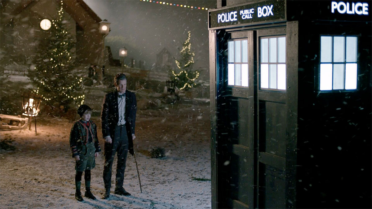 Falling snow by Snow Business in Dr Who