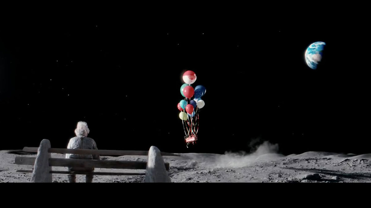 Moon effects for John Lewis Christmas ad by Snow Business