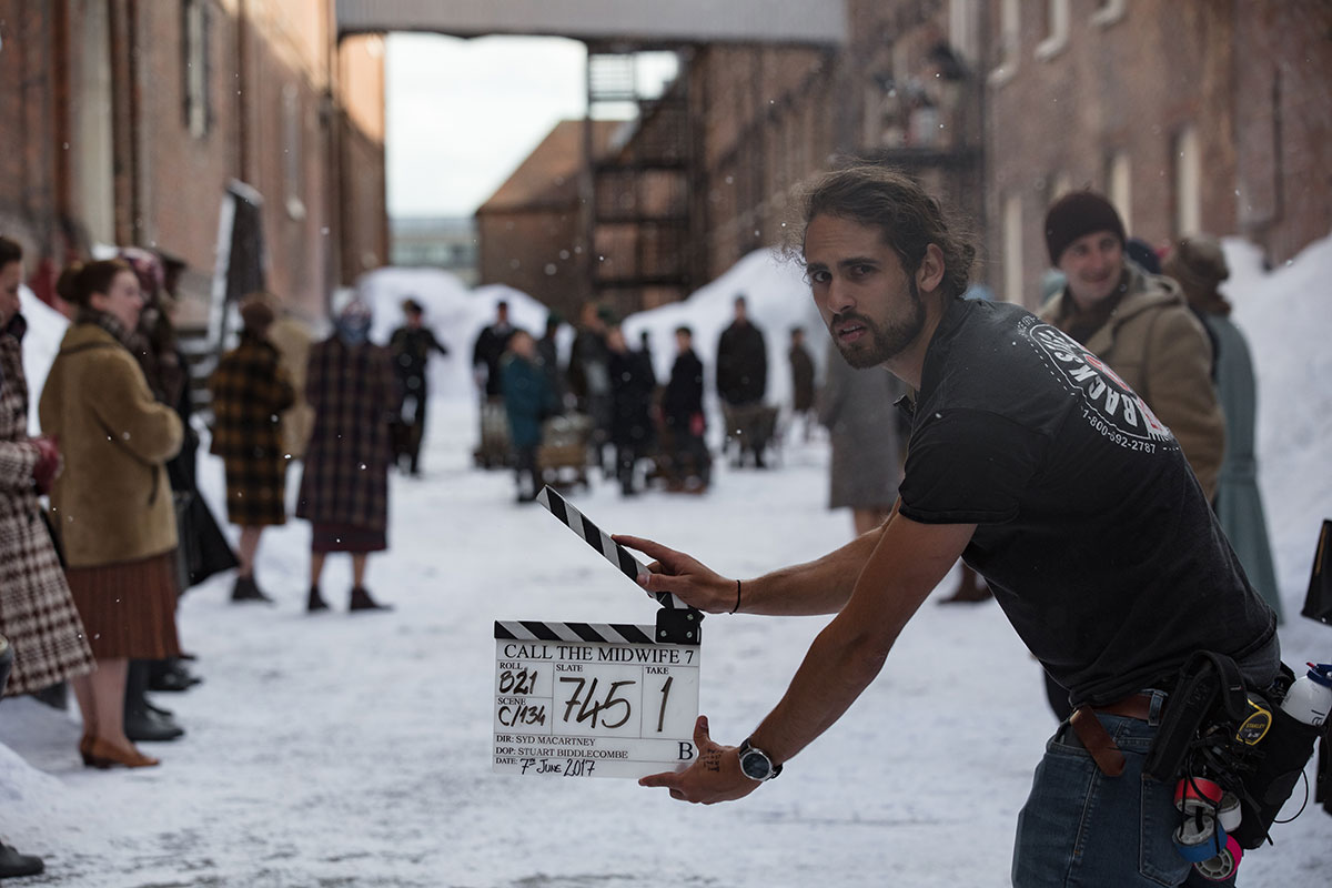 Behind the scenes for Call the Midwife, Snow by Snow Business