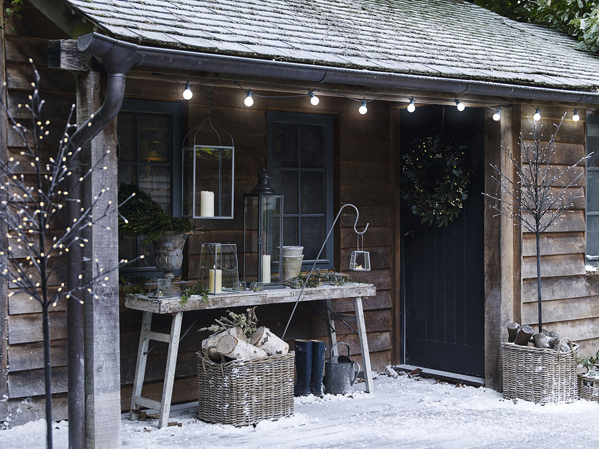 Frost effect created by Snow Business for The White Company