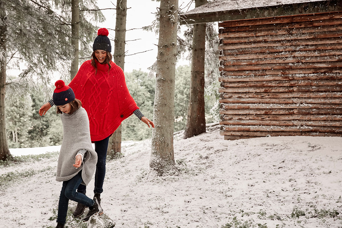 Still photography winter effect for Joules by Snow Business